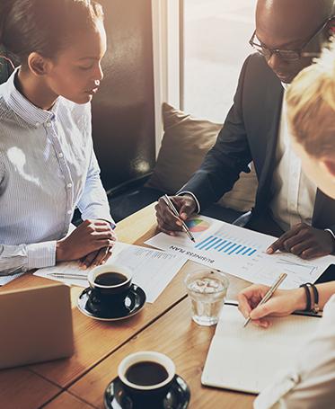 Banking-Techniken und Operationen für Unternehmen